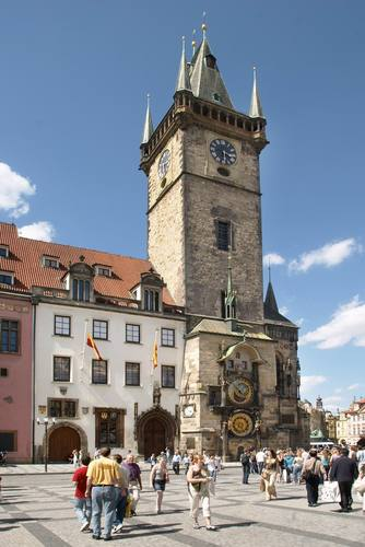 Old Town Square – astronomical clock