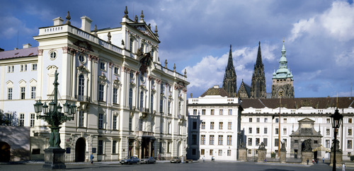 Prague Castle and Archbishop Palace