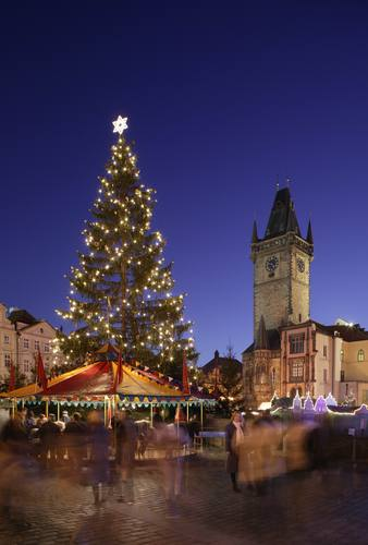 Old Town Square - Christmas Tree
