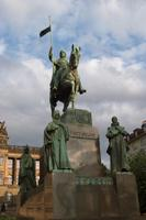Wenceslaw's Square – Statue of St. Wenceslaw