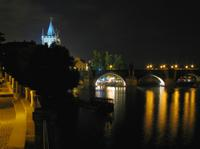 Charles Bridge - Night Atmosphere